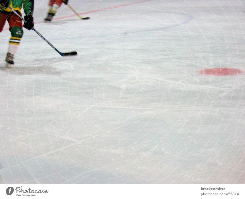 Randhockey Sport Eis Eisfläche Schlittschuhe Eishockey Stulpe Eisfeld