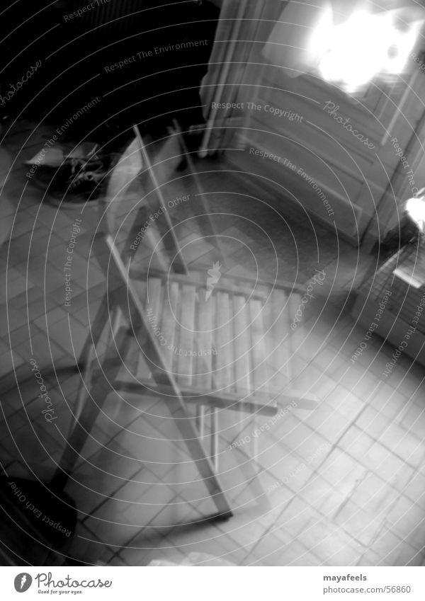 GhostChair chair living-room Schwarzweißfoto ghost fog object piece of furniture