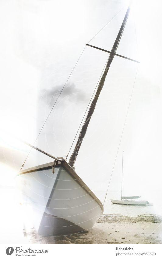 Du suchst das Meer Landschaft Himmel Schönes Wetter Küste Strand Bucht Nordsee Ostsee Insel Schifffahrt Binnenschifffahrt Bootsfahrt Fischerboot Sportboot