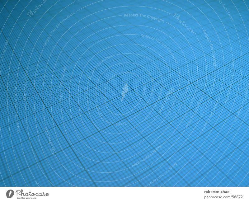 Rasterfahndung 3 Linie Hintergrundbild Perspektive Papier planen Ziffern & Zahlen Dinge Textfreiraum Quadrat parallel Oberfläche Entwurf Anordnung messen