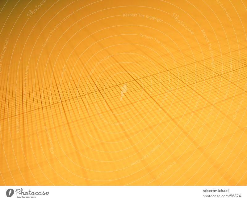 Rasterfahndung 4 gelb Linie Hintergrundbild orange Perspektive Papier planen Dinge Textfreiraum Quadrat durchsichtig vertikal Oberfläche Entwurf Anordnung
