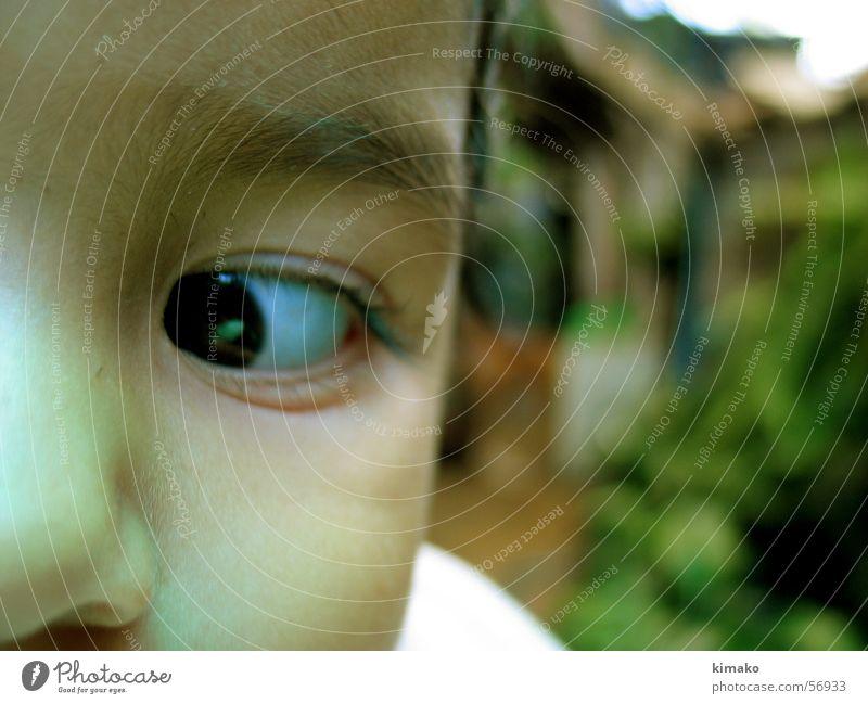 Auge Baby grün Mädchen Kind Gesicht Nase Mexiko eye face nose kimako