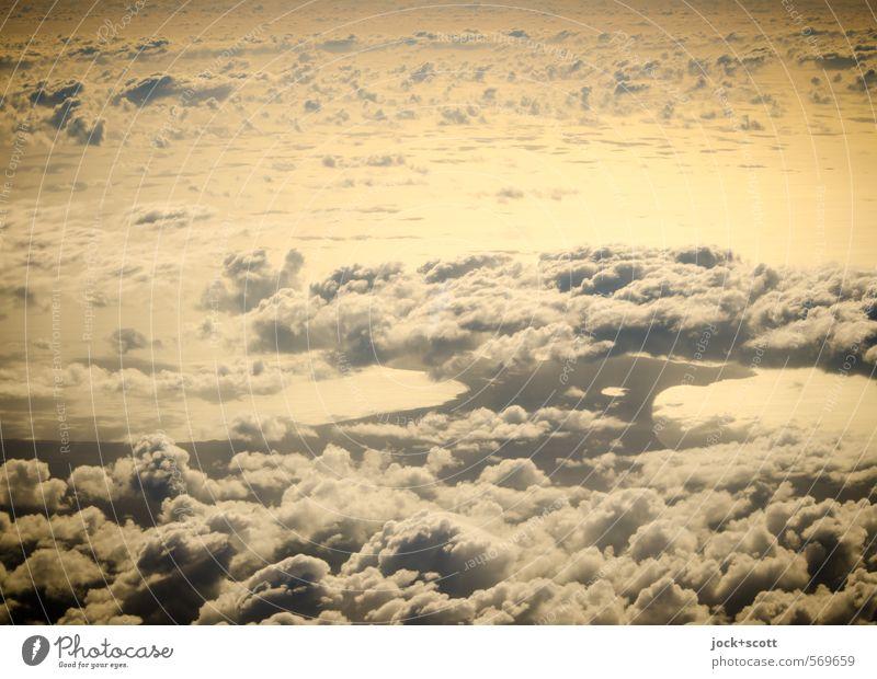 Morning Glory Wolken Wärme Ferne natürlich Fernweh Klima Wolkenformation Naturphänomene Atompilz Sonnenenergie Luftaufnahme Morgendämmerung Schatten Silhouette