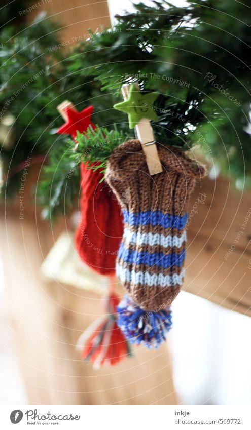 Wichtelmützenadventskalendermützchen (Nr 15) Lifestyle Freude Freizeit & Hobby stricken Häusliches Leben Weihnachten & Advent Tannenzweig Mütze Wollmütze