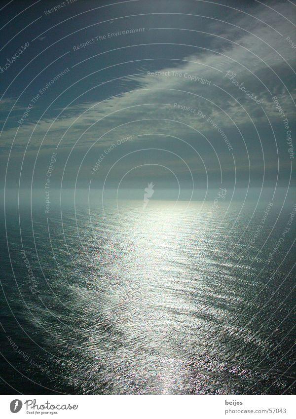 Zusammentreffen Natur Himmel Meer ruhig Ferne Freiheit Küste USA fantastisch sanft finden Kalifornien loslassen gewaltig verschmelzen