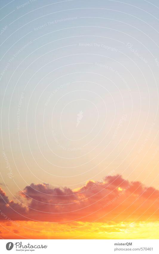 I.love.FV I Kunst ästhetisch Zufriedenheit Himmel (Jenseits) himmelwärts Sonne Wolken rot Sommerurlaub sommerlich Sommertag Sommergefühl Horizont Hoffnung Wärme