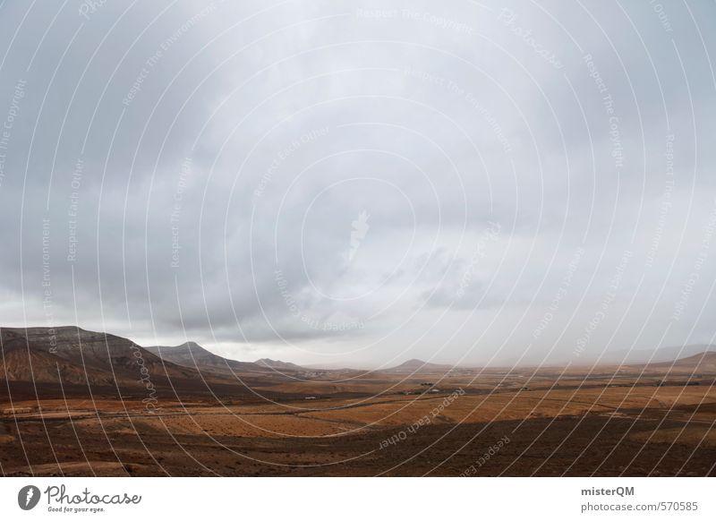 I.love.FV XV Kunst ästhetisch Zufriedenheit Landschaft Landschaftsformen Berge u. Gebirge Ferne Wolken Fernweh schlechtes Wetter grau braun Farbfoto