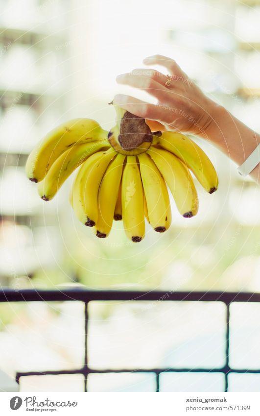 Bananen Lebensmittel Frucht Ernährung Ferien & Urlaub & Reisen Tourismus Ferne Safari Sommer Sommerurlaub Sonne exotisch Diät genießen frisch Gesundheit