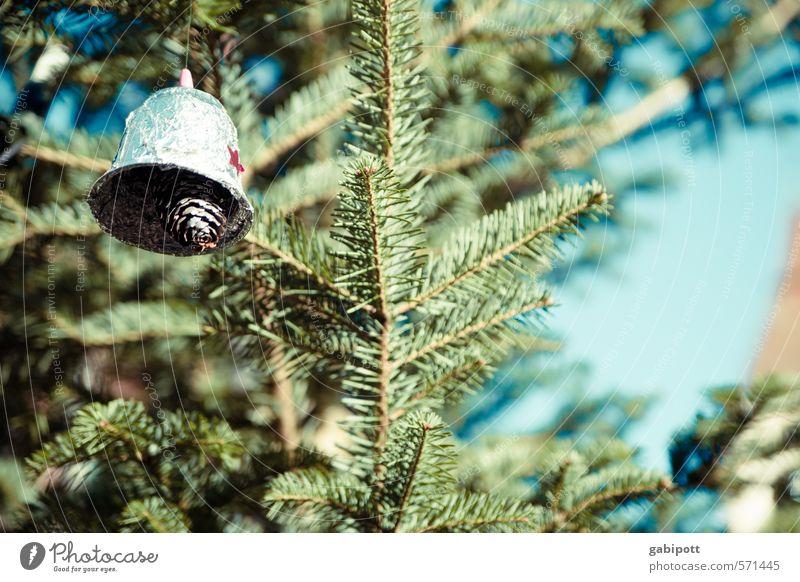 Klingglöckchen klingelingeling Ferien & Urlaub & Reisen Tourismus Weihnachten & Advent Freundlichkeit Fröhlichkeit positiv blau grün Design Idylle Kultur Kunst
