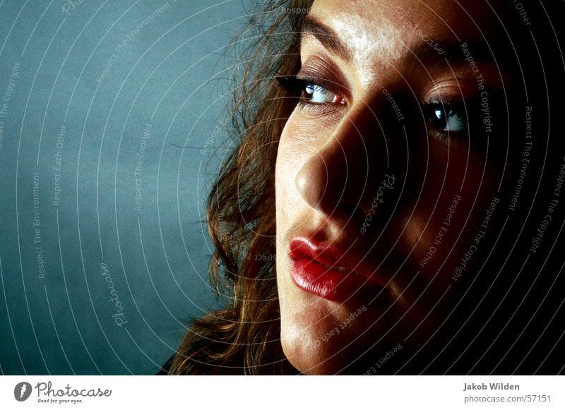 o.t. Frau ruhig frisch rein Gelassenheit Neugier gelehrt