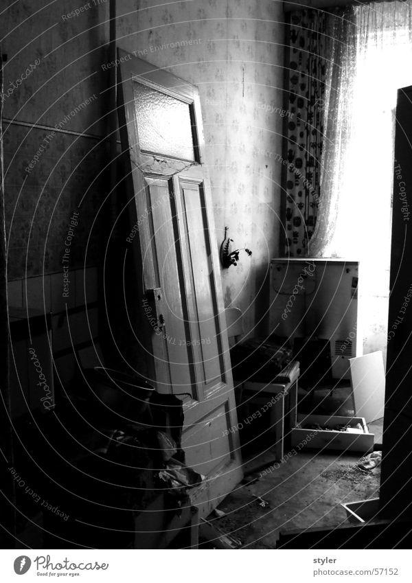 Küche Tür Verfall