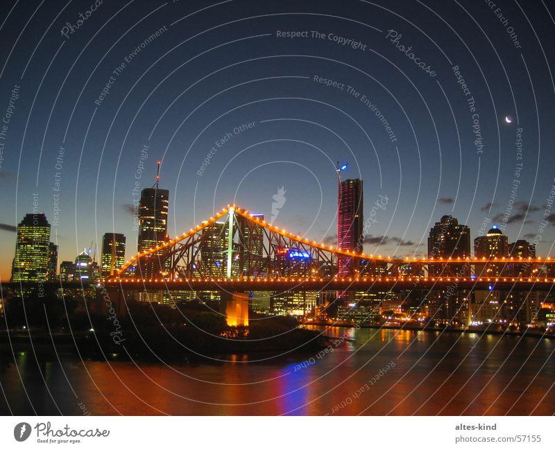 Brisbane (Australien) bei Nacht Queensland brisbane