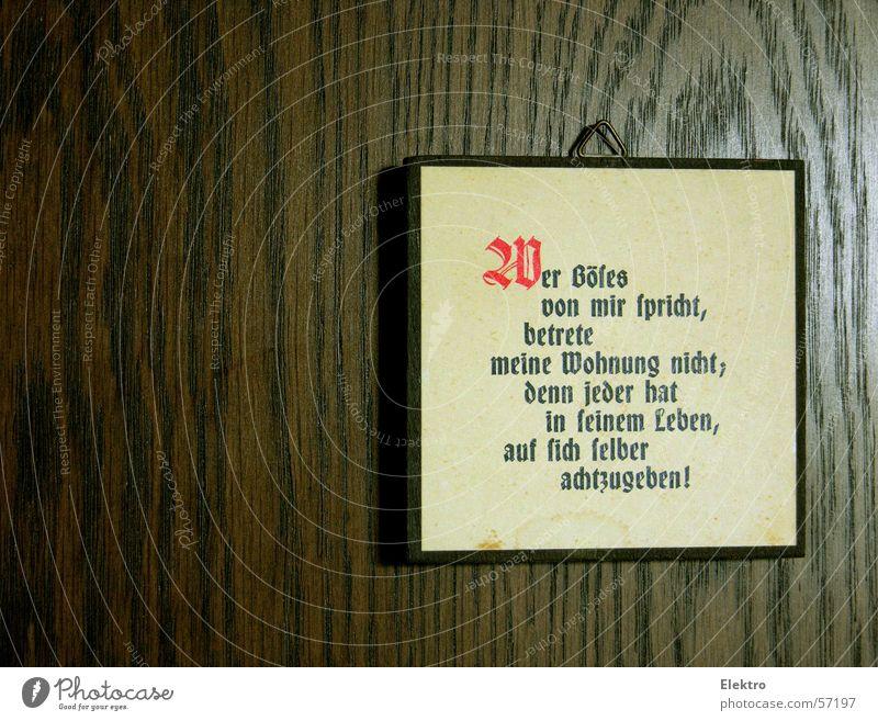 Achse des Bösen alt Bildung Leben Ziel Schlagwort Tür Wohnung Regel Schilder & Markierungen retro Dinge Tod Tor Grenze Lebensfreude Konzepte & Themen
