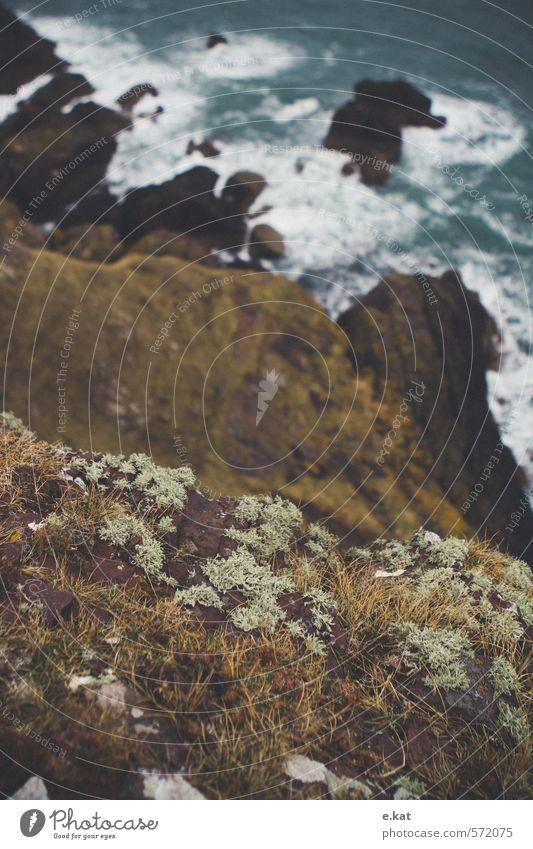 //Schottland_8 Umwelt Natur Landschaft Wasser Wellen Küste Bucht Stimmung Farbfoto Außenaufnahme Menschenleer Morgen