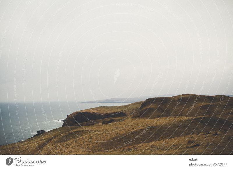 //Schottland_6 Natur Ferien & Urlaub & Reisen Meer Landschaft Strand Umwelt Berge u. Gebirge Wiese Küste Tourismus Europa Insel ästhetisch Abenteuer Hügel