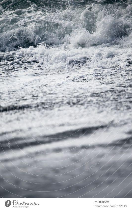 I.love.FV XXIII Ferien & Urlaub & Reisen weiß Wasser Kunst Wellen Zufriedenheit ästhetisch Fernweh Dynamik Wellengang Meerwasser Urlaubsfoto Wellenform