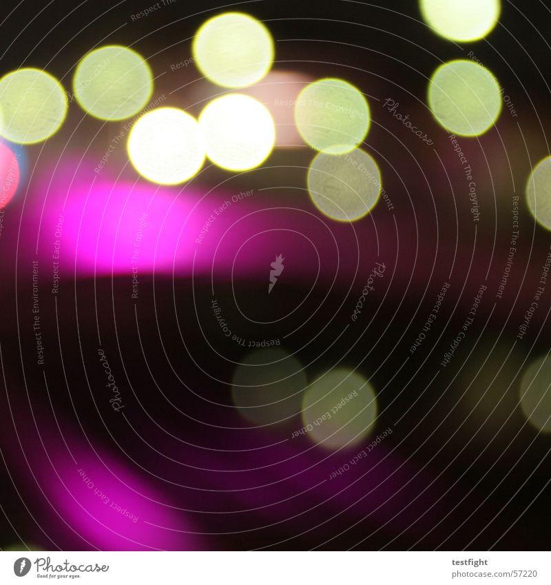 night on earth Farbe dunkel Neonlicht Lichtpunkt