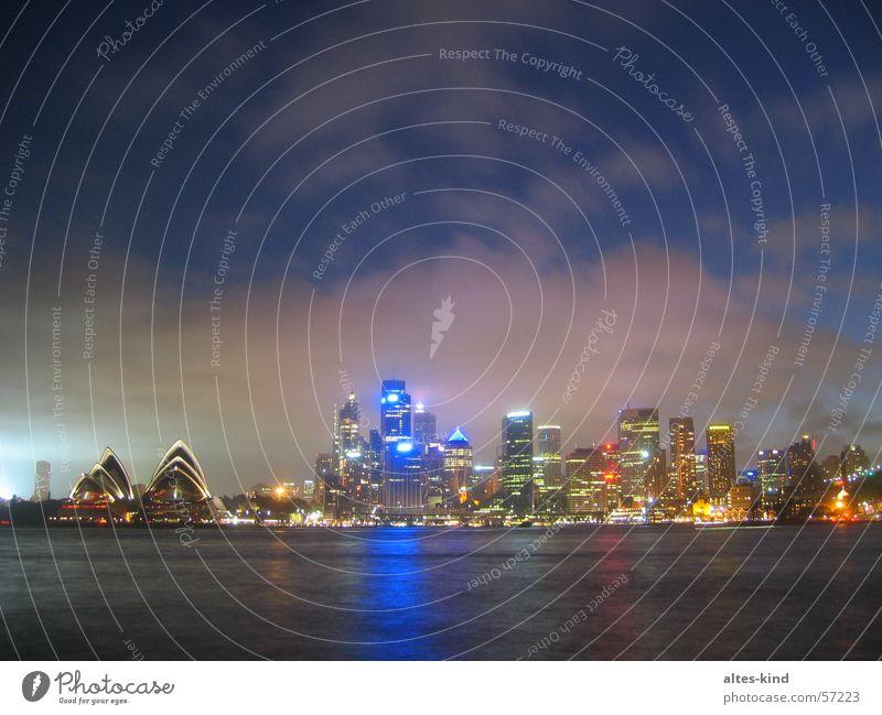 Sydney bei Nacht Australien