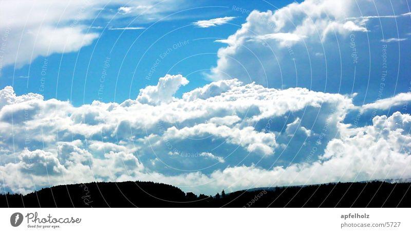 steinwald12 Himmel Wolken Horizont blau-weiß