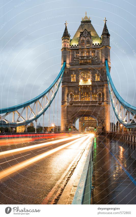 Himmel blau alt Stadt Architektur Stein hell Tourismus Europa Brücke Fluss Symbole & Metaphern historisch erleuchten Denkmal Tradition