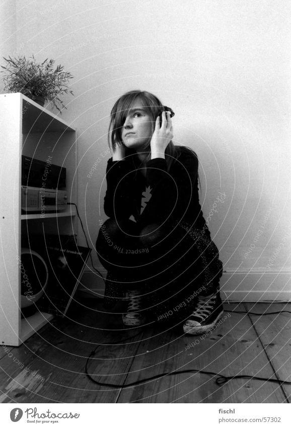 Let it out! Musik Denken Raum Angst sitzen Verzweiflung Frustration Musikanlage