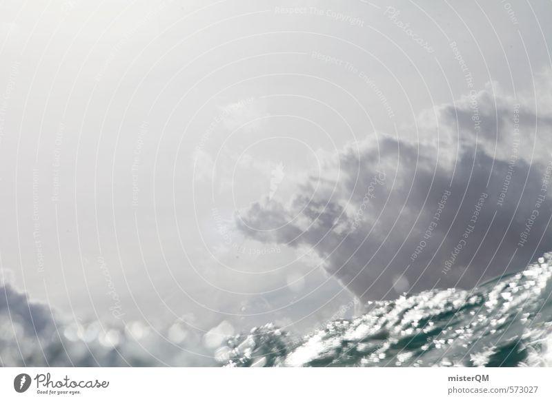 I.love.FV VII blau Himmel (Jenseits) Wasser Meer Wolken Ferne dunkel Kunst grau Horizont Zufriedenheit Wellen ästhetisch Wasseroberfläche Surfen Wassersport
