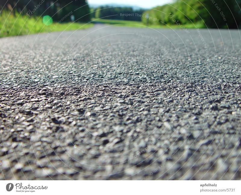 kein verkehr Straße Natur teerdecke Blauer Himmel