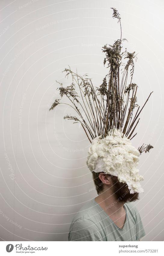 Vase Mensch maskulin Mann Erwachsene Körper Haut Haare & Frisuren Bart Kunst Künstler Kultur Subkultur Show Umwelt Natur Landschaft Pflanze Tier Urelemente