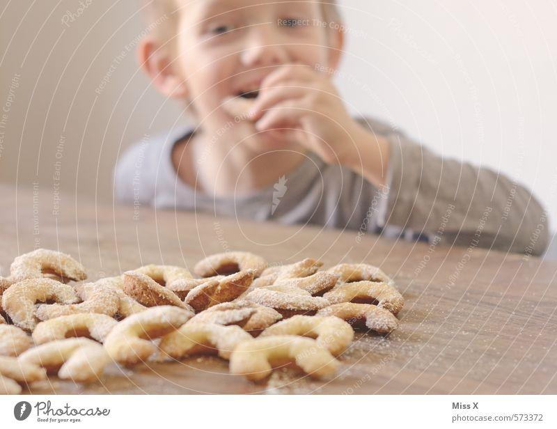 Plätzchendieb Lebensmittel Teigwaren Backwaren Ernährung Essen Weihnachten & Advent Mensch Kind Junge 1 3-8 Jahre Kindheit 8-13 Jahre frech Fröhlichkeit lecker