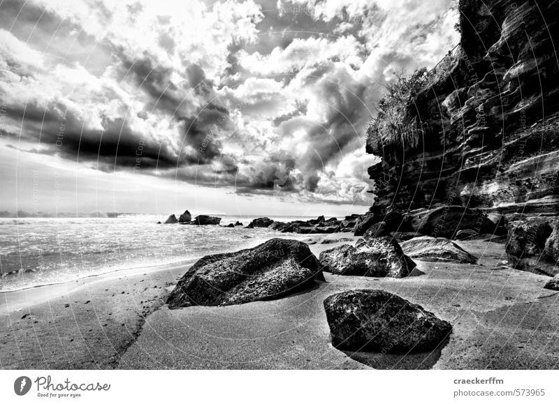 Drama, Baby! Landschaft Sand Wasser Wolken Schönes Wetter schlechtes Wetter Strand Insel Aggression ästhetisch außergewöhnlich bedrohlich Sehnsucht Fernweh