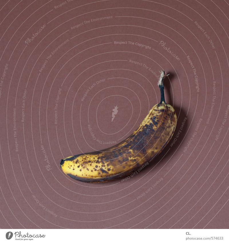 reif alt Farbe gelb Senior Essen Gesundheit natürlich braun Lebensmittel Frucht ästhetisch Ernährung Vergänglichkeit Wandel & Veränderung verfaulen Verfall