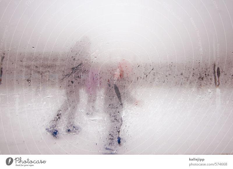 gorillas im nebel Wintersport Jacke Mütze Fitness Freizeit & Hobby Eisbahn beschlagen Wassertropfen Nebel Schlittschuhlaufen Familie & Verwandtschaft Farbfoto