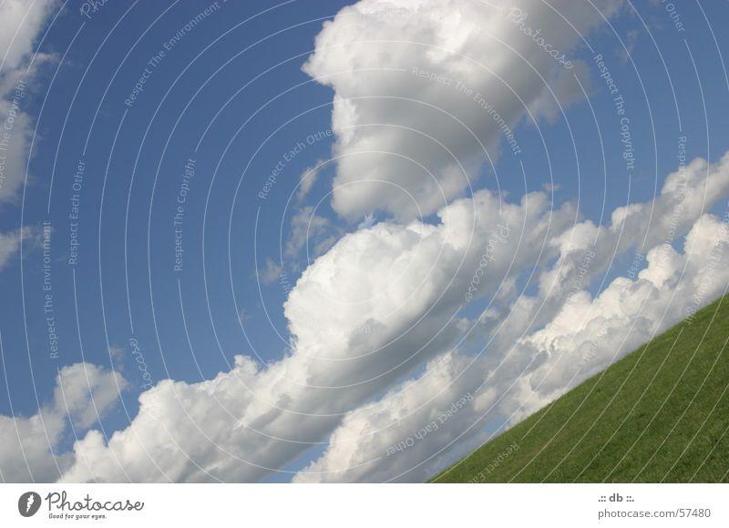 ..:::grenzenlos:::.. Himmel Sommer Wolken Unendlichkeit