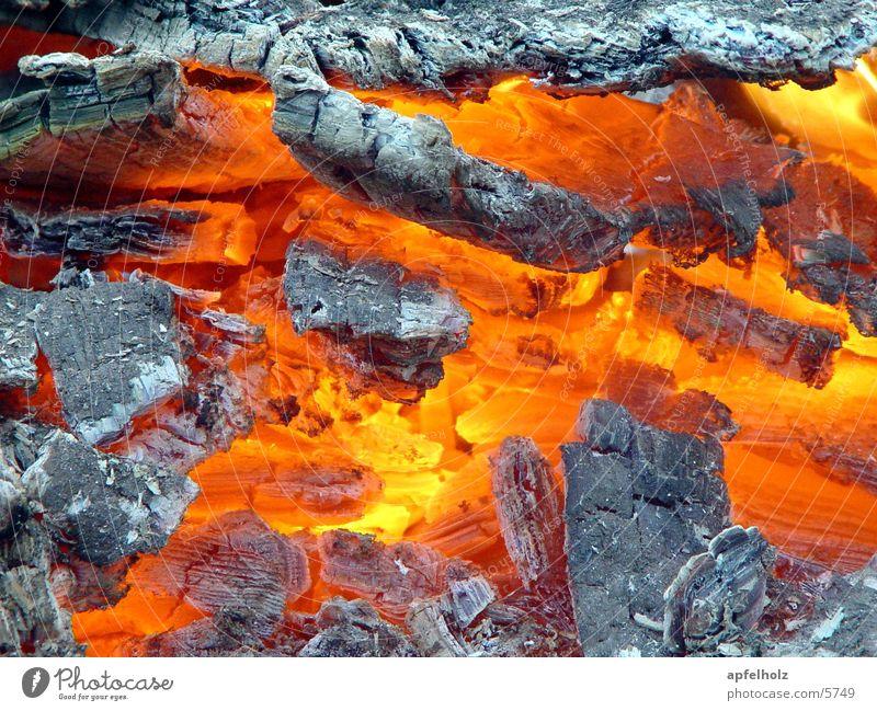 glühende glut heiß Glut Physik Dinge Brand Wärme