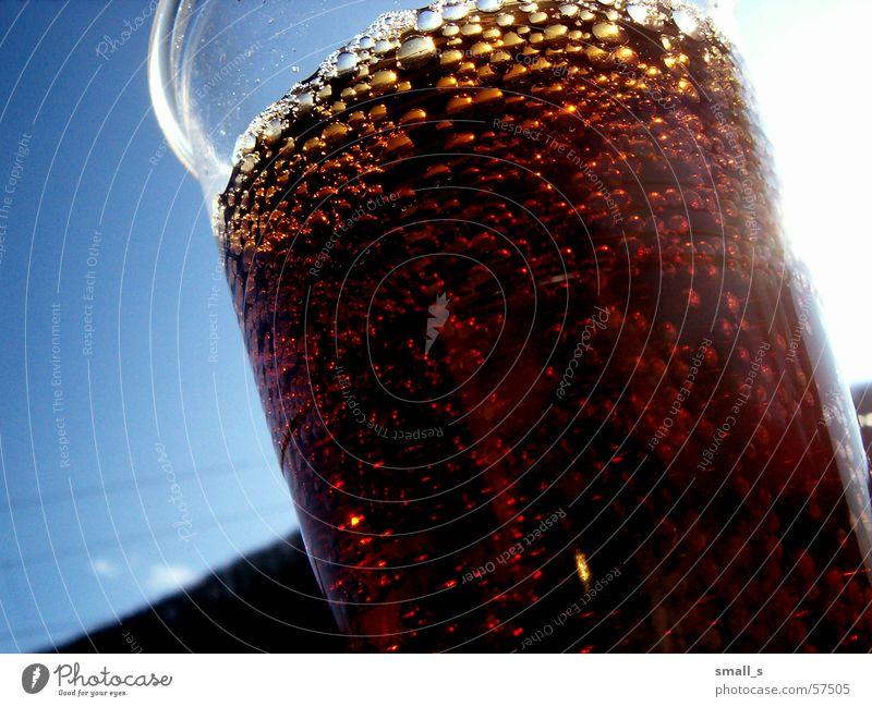 My coke 2 Getränk Blauer Himmel Cola