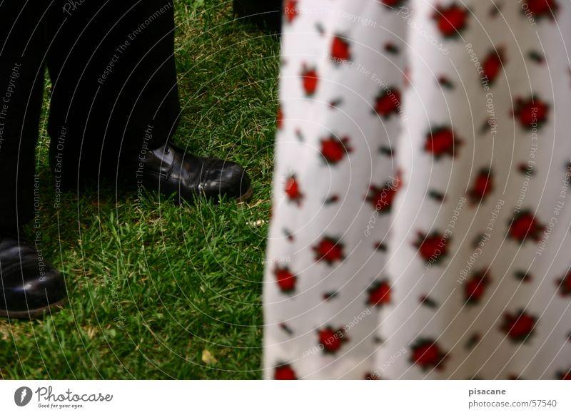 der erste tanz Gras Schuhe Tanzen Feste & Feiern Hose