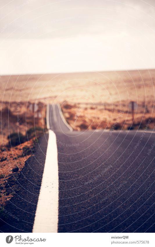 I.love.FV XXIX Kunst ästhetisch Zufriedenheit Straßenbelag Straßenverkehr Verkehr Verkehrswege Straßenrand Straßenbau Wüste gehen Fahrbahnmarkierung Wolken USA