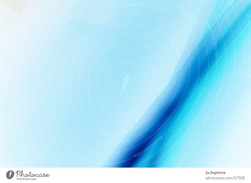 Blue Impressions I blau Farbe Hintergrundbild Linie Design leuchten Textfreiraum durchsichtig innovativ Lichtspiel Illusion kreuzen gekreuzt Farbenspiel