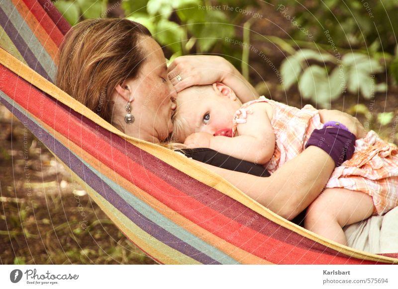 Das Auge der Freiheit aus dem Schoße der Mutter Mensch Frau Kind Natur Mädchen Erwachsene feminin Freiheit Glück Gesundheit Garten Familie & Verwandtschaft Häusliches Leben Kindheit Baby Mutter
