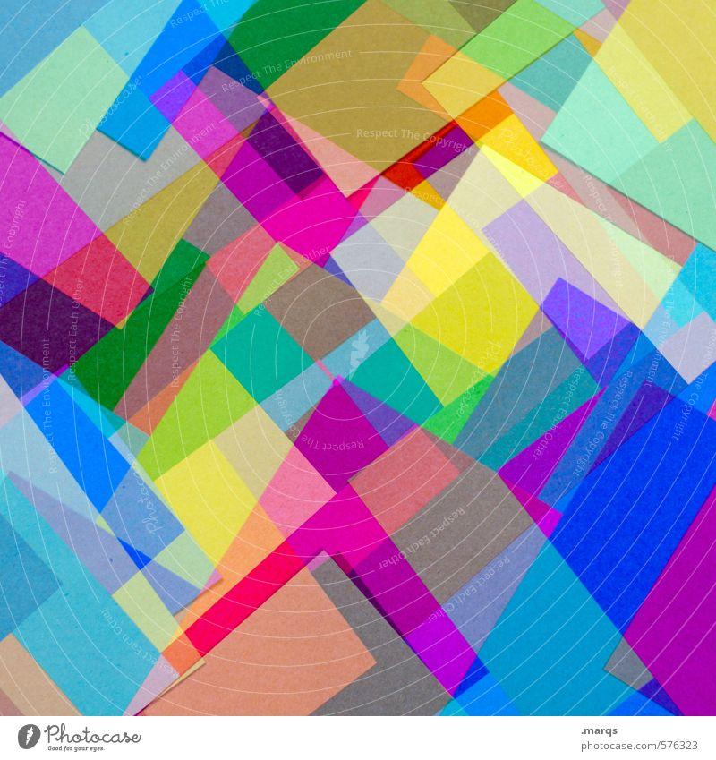 Reizüberflutung Farbe Stil Hintergrundbild außergewöhnlich Lifestyle Ordnung elegant Dekoration & Verzierung Design modern verrückt Papier Coolness einzigartig