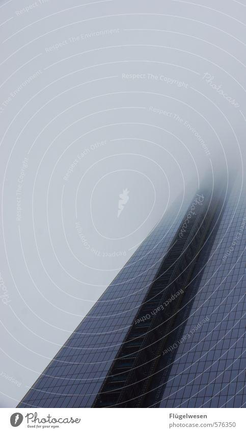 Nebel am Ende des Hochhauses Ferien & Urlaub & Reisen Ferne Gebäude Architektur Freiheit Regen Wetter Tourismus Ausflug Abenteuer USA Bauwerk Unwetter Skyline