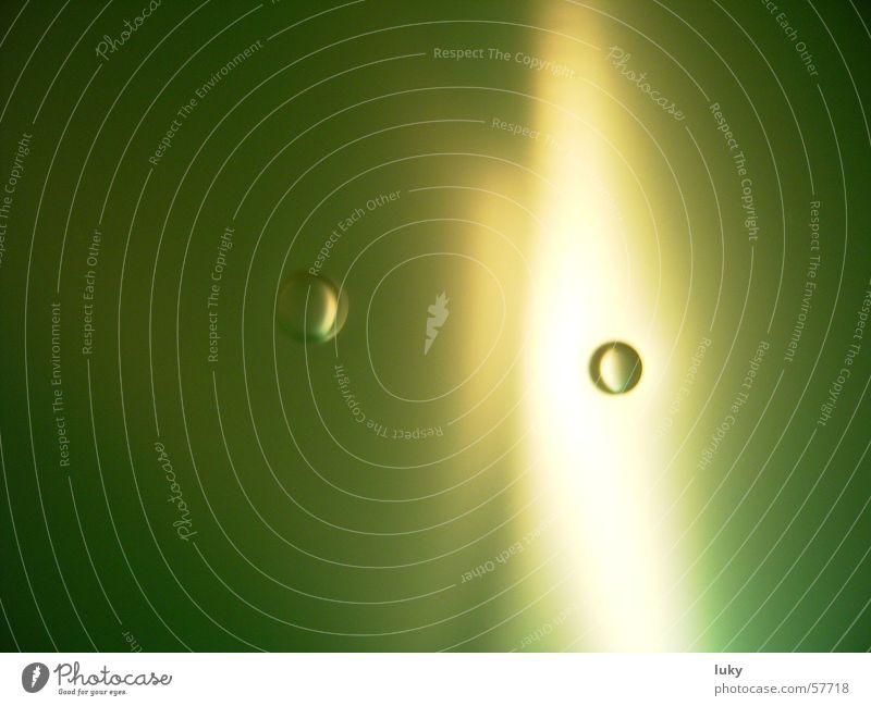 getrennte blasen grün Wasser Leben Hintergrundbild Wassertropfen leicht Trennung Luftblase matt