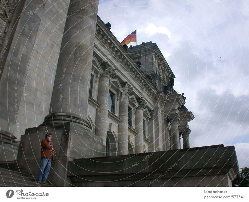 Reichstag Berlin Gebäude Deutscher Bundestag Deutschland