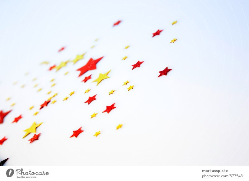 stars & stars Weihnachten & Advent rot Stil Feste & Feiern gold glänzend elegant Design Dekoration & Verzierung berühren retro Stern (Symbol) Zeichen