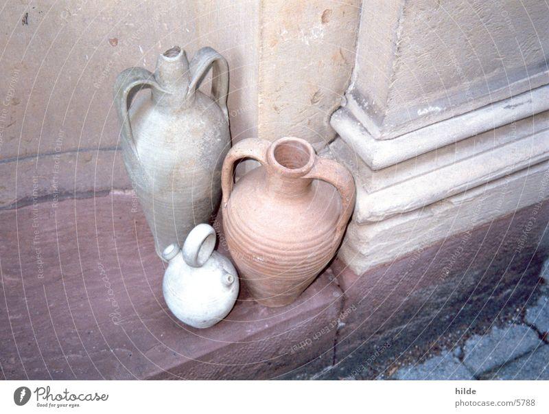 stilleben I Terrakotta Vase Keramik Dinge tontöpfe