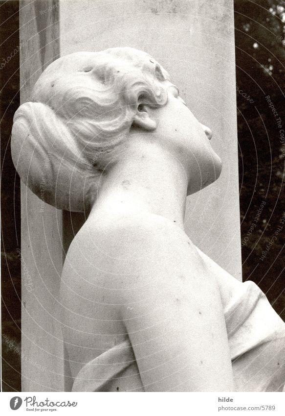 nur stein Frau Stein Freizeit & Hobby Statue Friedhof Marmor