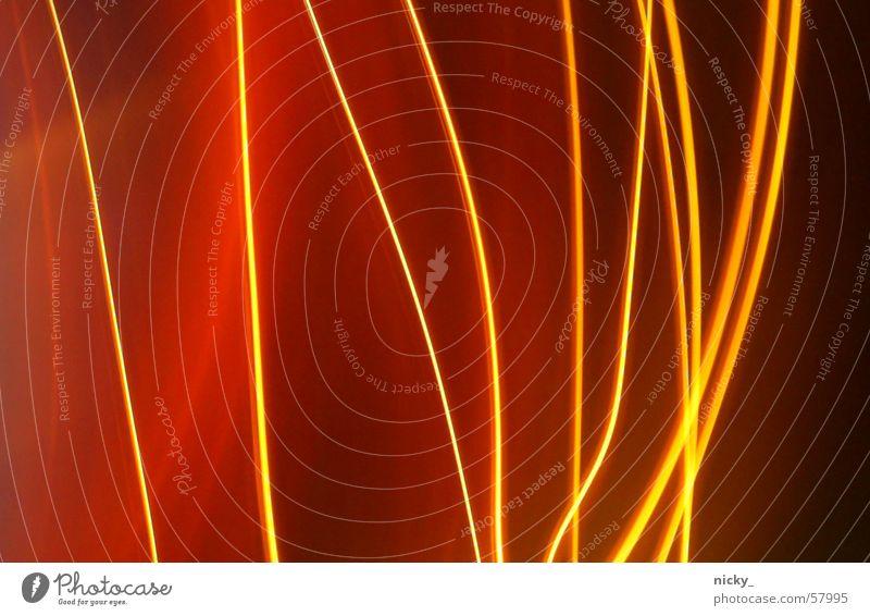 schwedische lichtgardinen Streifen rot Licht brennen vertikal dunkel ruhig orange Brand Justizvollzugsanstalt unruhig chill