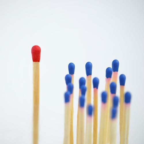 alle mal herhören... blau rot sprechen Schule Arbeit & Erwerbstätigkeit Erfolg lernen Studium Telekommunikation Bildung Team Erwachsenenbildung Sitzung Schüler