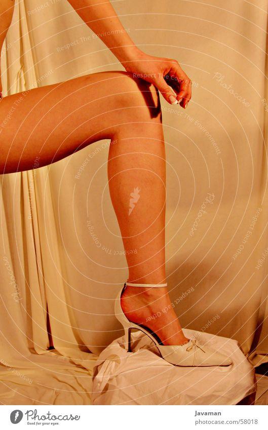 Glamour Frau Erotik Schuhe Beine