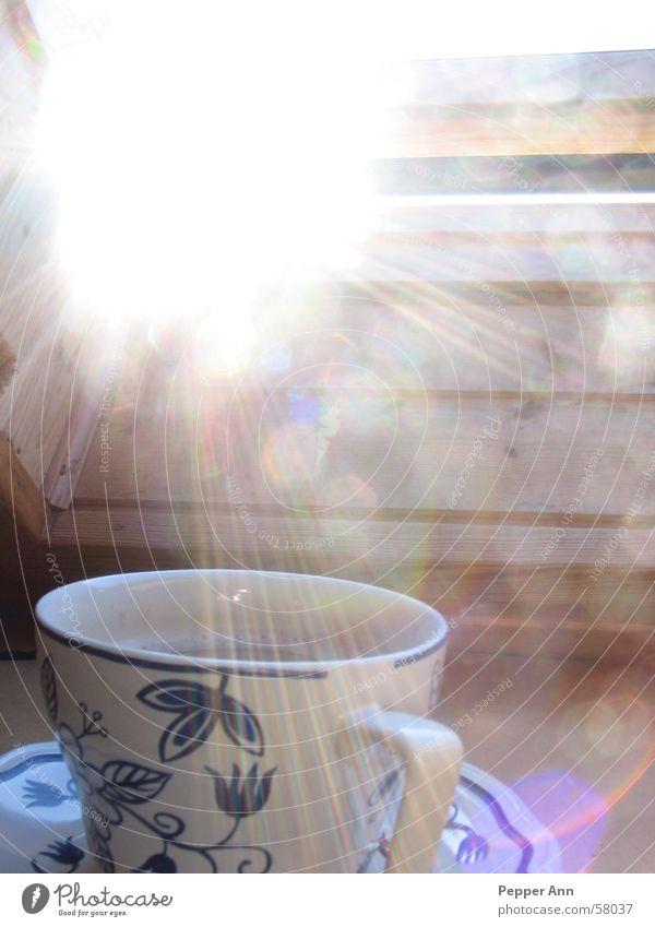 kaffeepause Sonne ruhig Energiewirtschaft Kaffee gemütlich